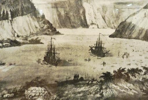 L'astrolabe et la Boussole en Alaska en 1786