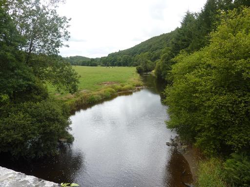L'Aulne et sa vallée dans le Finistère