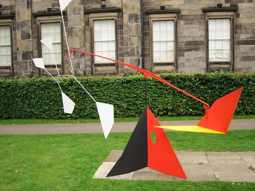 L'empennage de Calder à Édimbourg