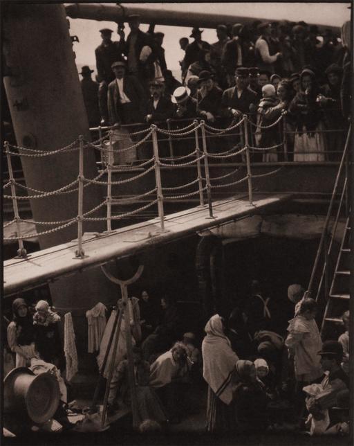 L'entrepont en 1907