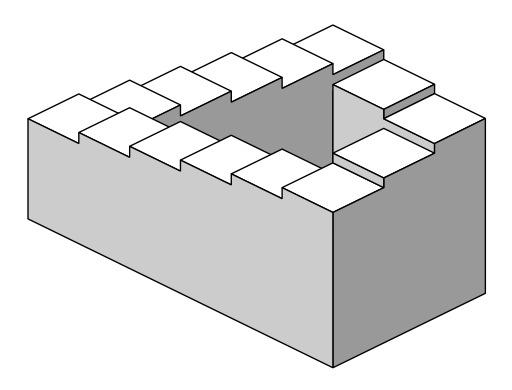 L'escalier impossible de Penrose