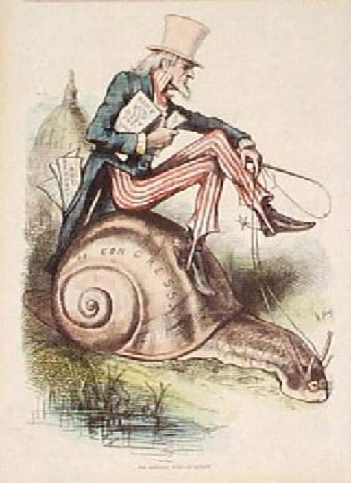 L'escargot politique