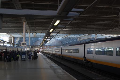 L'Eurostar à Londres