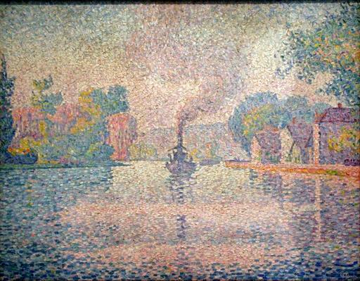 L'Hirondelle à vapeur sur la Seine