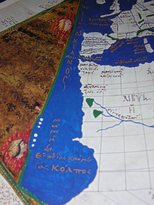 L'océan atlantique de Ptolémée