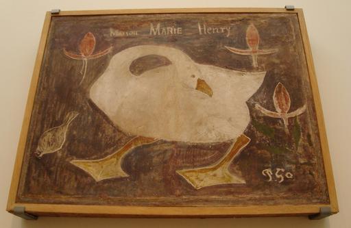 L'oie bretonne de Gauguin