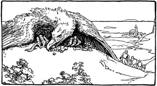 L'oiseau gigantesque