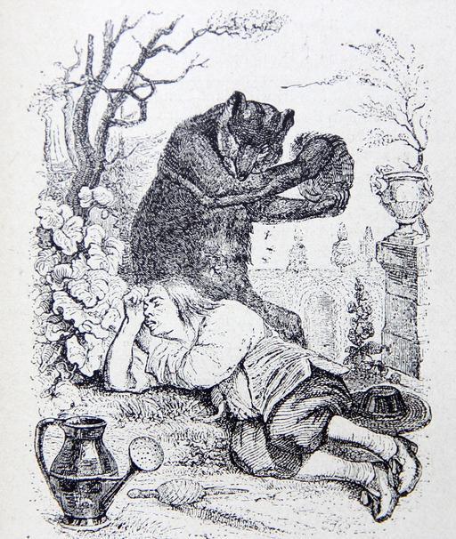 L'ours et l'amateur de jardins