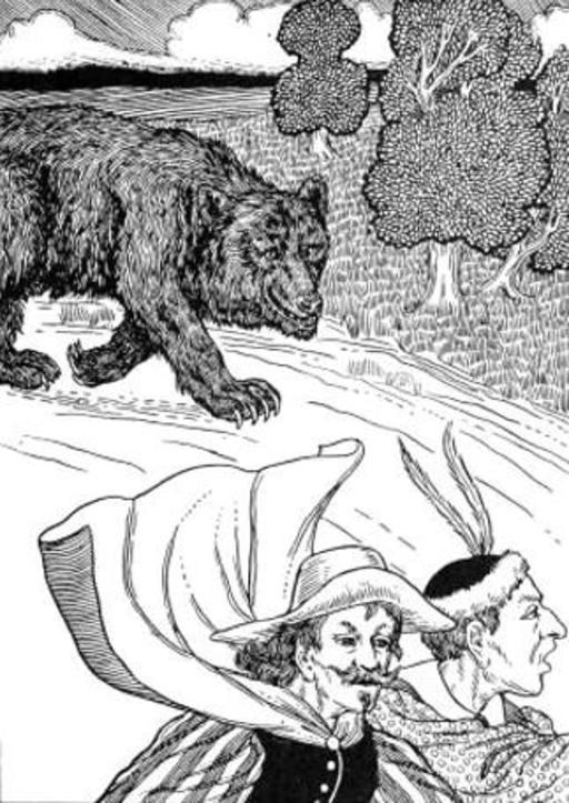 L'Ours et les deux Compagnons