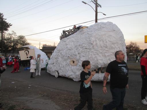 La baleine blanche de Carnaval