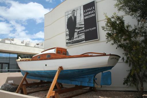 La barque de Brassens à Sète