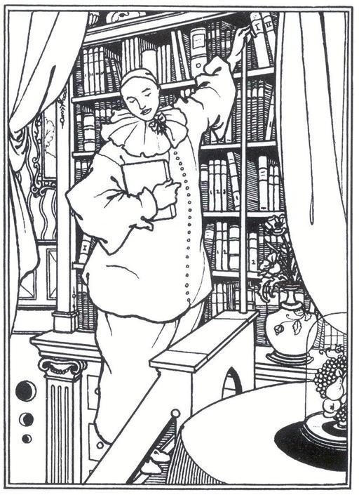 La bibliothèque de Pierrot
