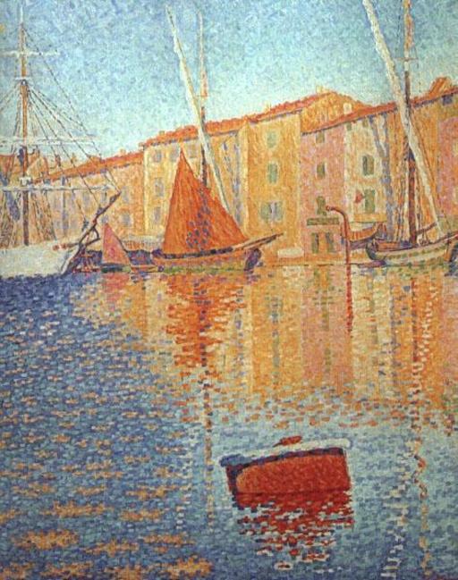 La bouée rouge à Saint-Tropez