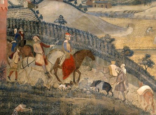 La campagne médiévale