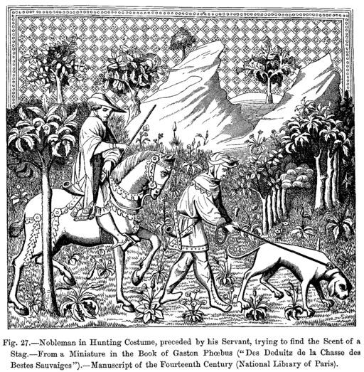 La chasse au XIVème siècle