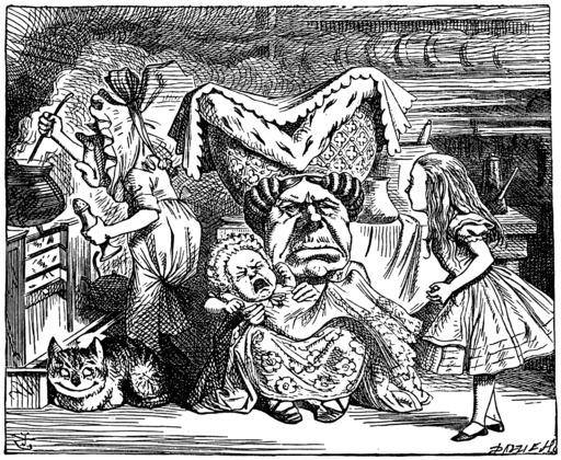 La cuisine de la duchesse, par Alice