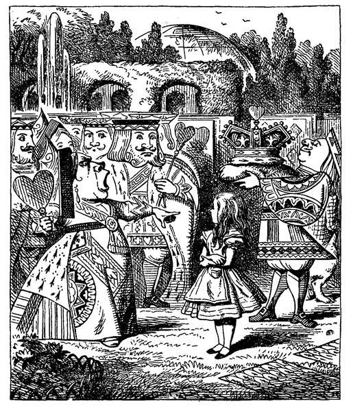 La dame de coeur d'Alice
