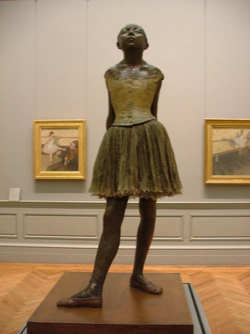 La danseuse de 14 ans