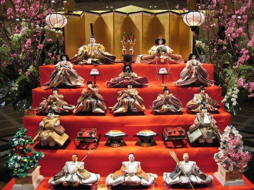La fête des poupées au Japon
