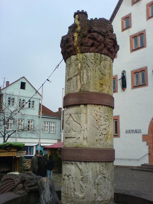 La Fontaine des contes de fées