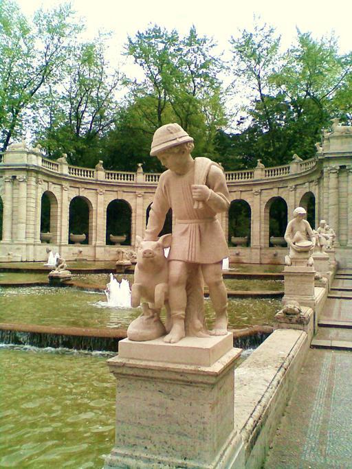 La fontaine des contes de fées à Berlin