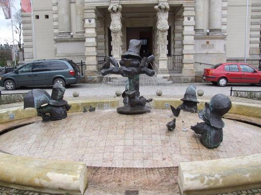La fontaine des nains