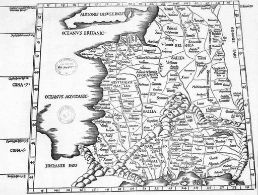 La Gaule au temps de Ptolémée