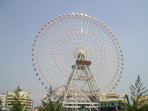 La grande roue japonaise de MinatoMirai21