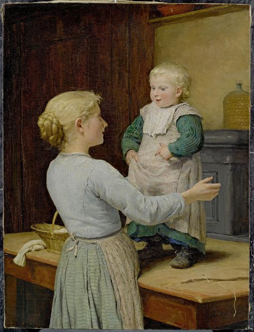 La grande soeur et le bébé