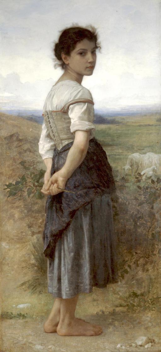 La jeune bergère