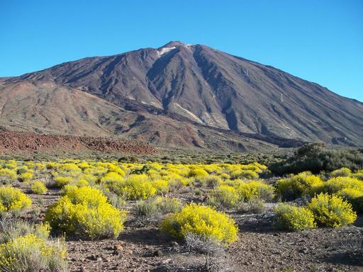 La légende de Guayota et du volcan Teide