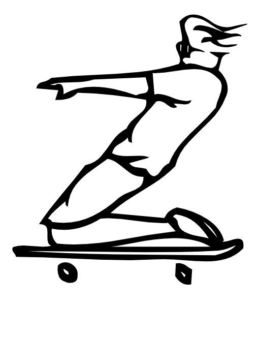 La lettre Z du skateur