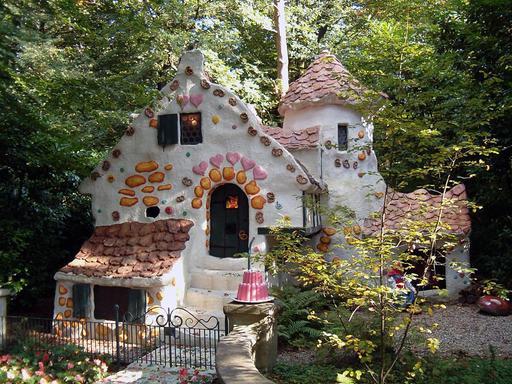 La maison de la sorcière à Efteling