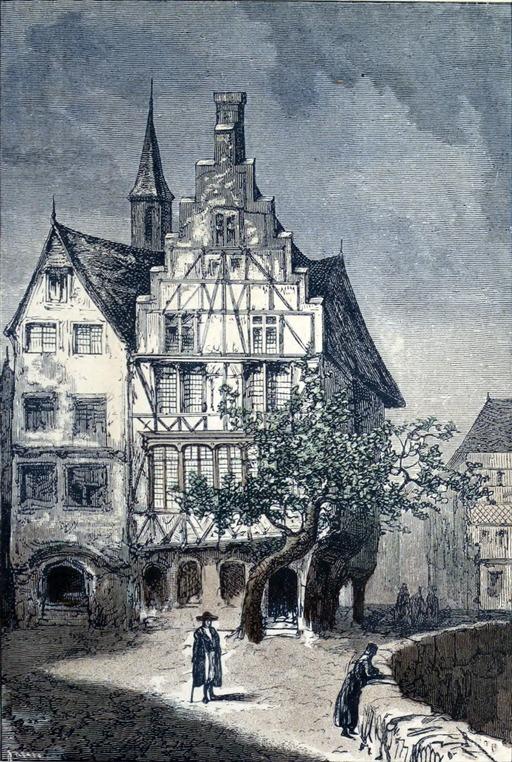 La maison du professeur Lidenbrock