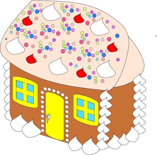 La maison en pain d'épices d'Hansel et Gretel