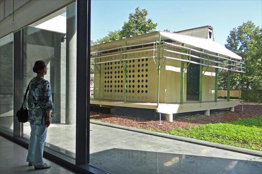 La maison tropicale de Jean Prouvé à Nancy