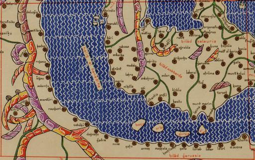 La Méditerranée en 1154