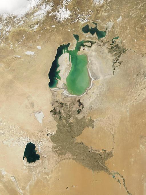 La mer d'Aral