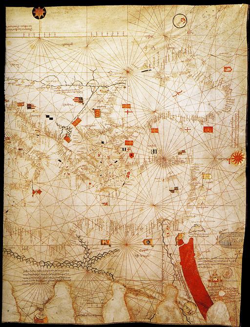La Mer Rouge en 1380