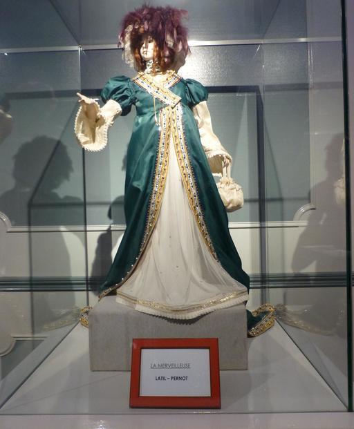 La merveilleuse au musée des automates