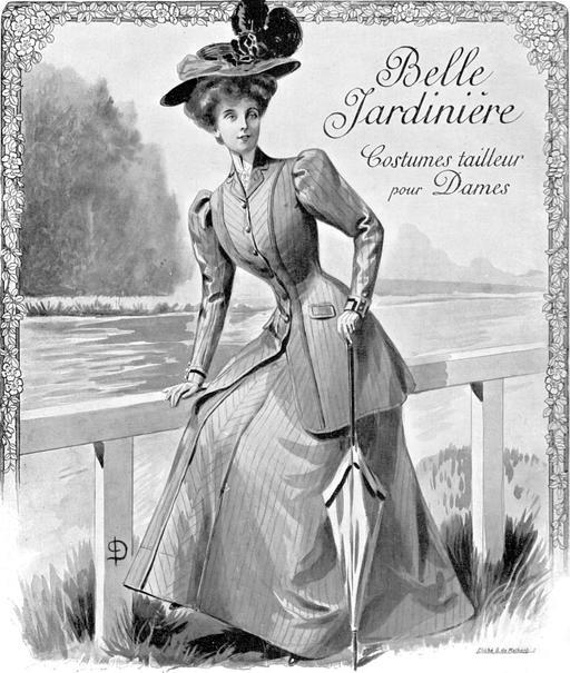 La mode parisienne en 1907