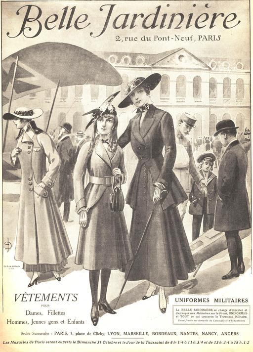 La mode parisienne en 1915