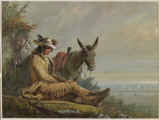 La mule de Pierre, coureur des bois
