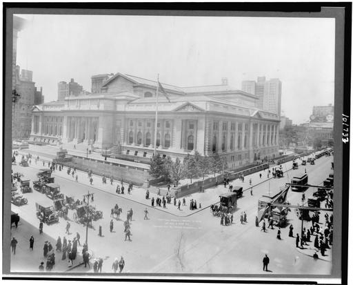 La New York Public Library en 1914