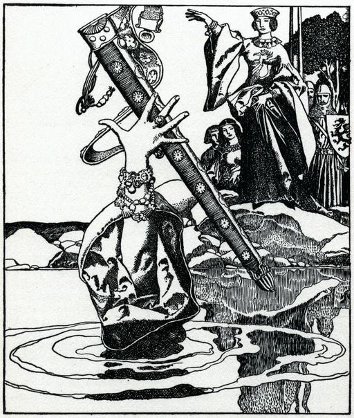 La perte d'Excalibur en 1903