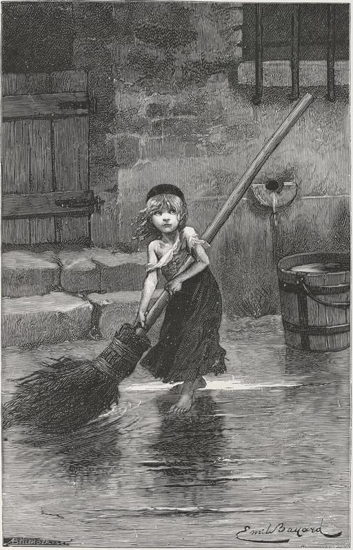 La petite Cosette en 1862