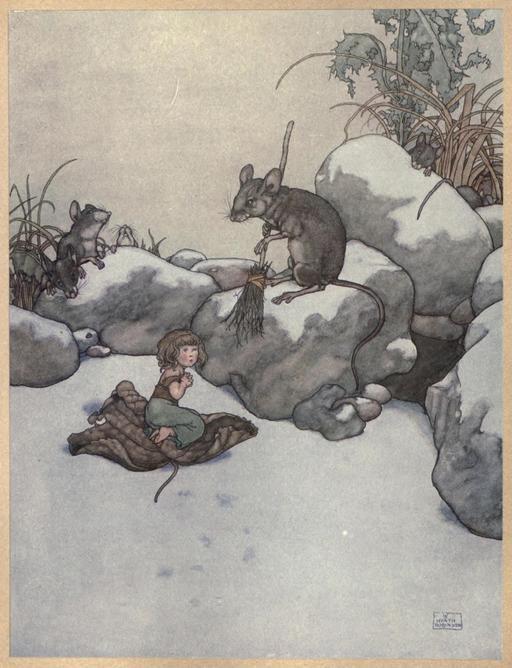 La petite Poucette d'Andersen