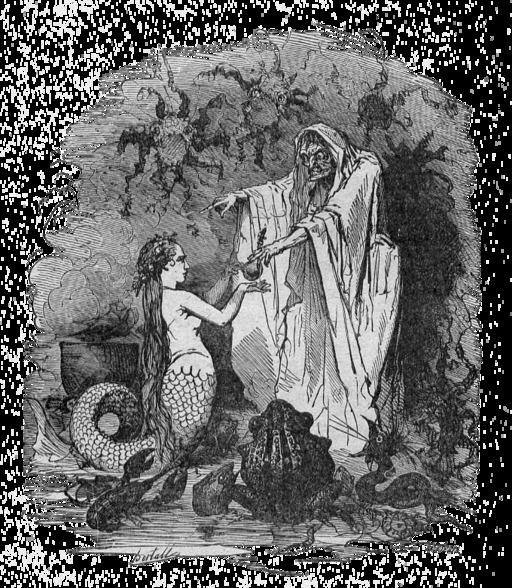 La petite sirène d'Andersen