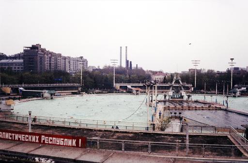 La piscine de plein air de Moscou