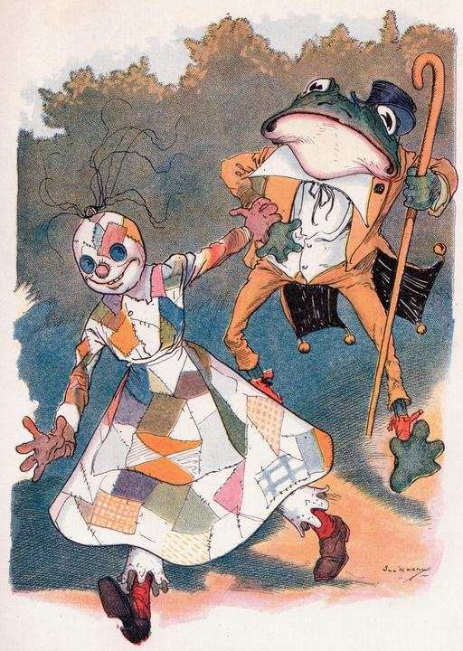La princesse d'Oz et le prince crapaud